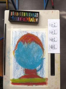 Dessiner un portrait en couleur