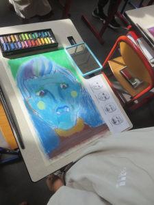 Dessiner un portrait triste