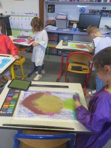 Intervention artisique en milieu scolaire