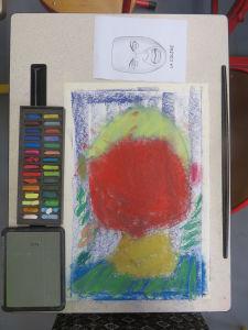Apprendre à dessiner un portrait en couleurs