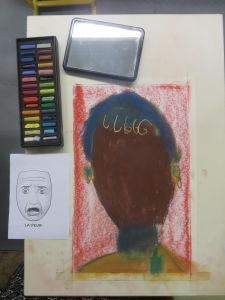 Dessin d'enfant en couleur