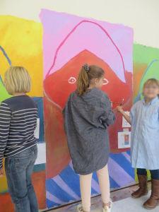 Mur peint à Odenas