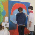 Les enfants de CE2/CM1 dessinent le visage