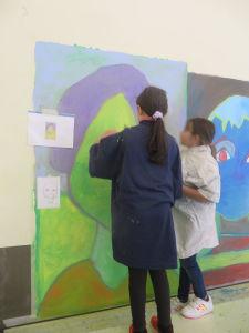 Peindre des portraits géants