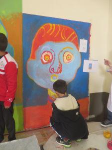 S'exprimer par la peinture à l'école
