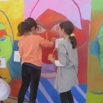 Les élèves de CE2/CM1 peignent le visage