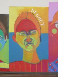 Exprimer le dégoût en peinture