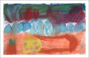 Dessiner un paysage à la maternelle