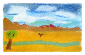 Peindre dans le désert