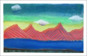 Montagnes rouges
