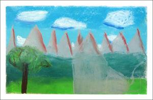 Montagnes de pierre