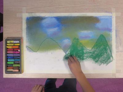 Peindre les montagnes