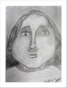 Portrait réalisé par un enfant de CM2