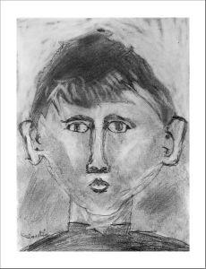 Portrait e noir et blanc