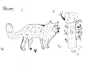 Cours de dessin à l'école