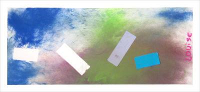 Etaler la couleur directement avec les mains