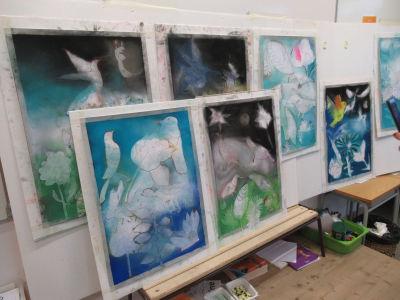 Les 7 tableaux sont presque finis