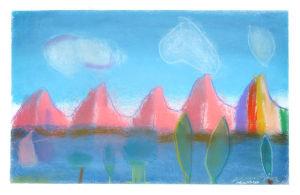 Les montagnes roses