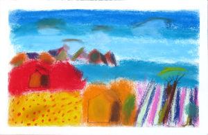 Peindre un paysage de Provence