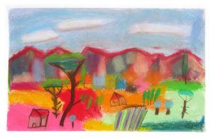 Peindre un paysage de Provence au pastel