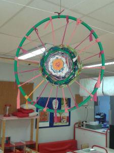 Les créations décorent la classe
