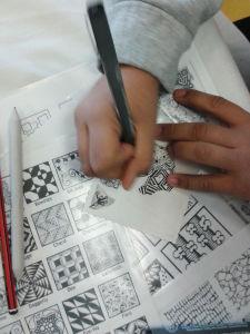 Ateliers artistiques avec les enfants hospitalisés