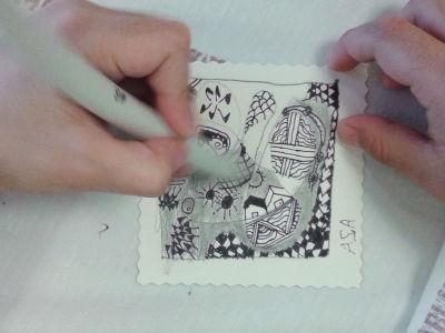 Créer des ombres au crayon à papier