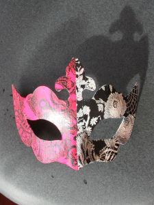 Moup décoré avec du papier décopatch
