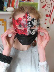 Le masque de Marie-Lou