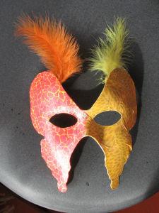 Masque bi-color