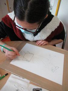 Prendre le temps de dessiner à la plume