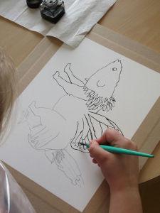 Ateliers créatifs avec les enfants