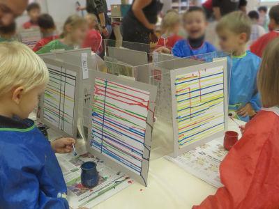 Interventions artistiques à l'école maternelle