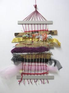 Chuttes de tissu et de ruban