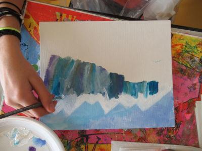 Peindre l'arrière plan