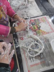 Arts visuels et plâtre