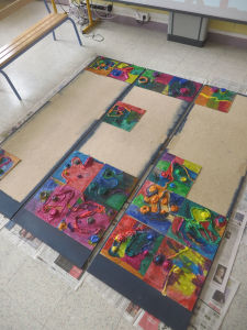 Comme un grand puzzle coloré