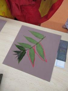 Dessiner une feuille d'arbre