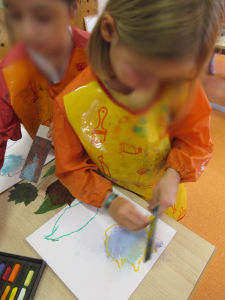 Activité créative avec les enfants