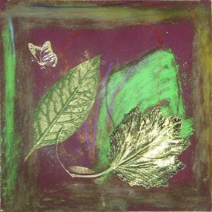 Créer avec des feuilles séchées