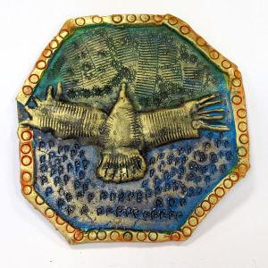 Céramique représentant un condor