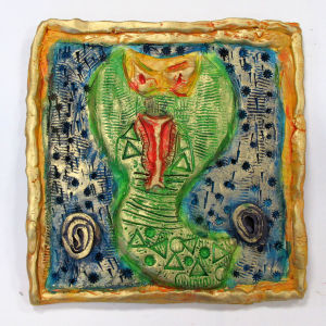 Portrait de serpent à sonnette