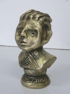 Céramique imitation bronze