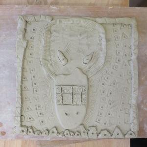 Travail à la plaque - Céramique