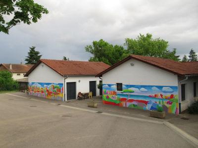 Les fresques de l'école de Charvieu-Chavagnieux
