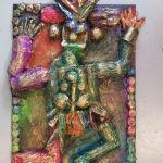 Sculpture en papier mâché