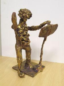 Petite sculpture de Mozart