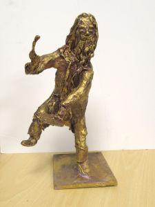 Figurine de Léonard de Vinci