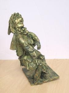 Figurine réalisée par un enfant de CM1