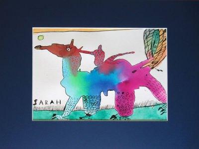 Le dessin de Sarah, 9 ans